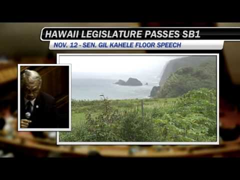 Hawaiian history and homosexuality - Sen. Gil Kahele (Nov. 12, sb 1)