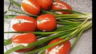 Как приготовить закуску тюльпаны с крабовым мясом сыром и творогом