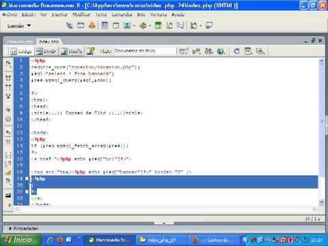 VideoTutorial 24 del Curso de PHP y MySQL