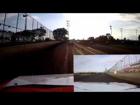 Boone Speedway 7-23-16 IMCA Stock Cars Hot Laps 3G