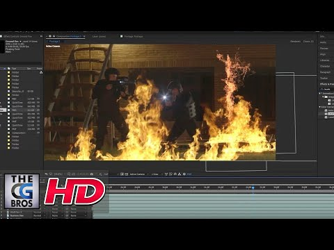 "CGI VFX Tutorial: ""Soldier Fire: Compositing Fire"" - by ActionVFX"