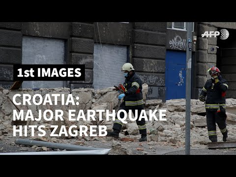 Croatia: 5.3-magnitude earthquake causes major damage in Zagreb | AFP