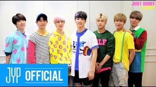 "GOT7 ""딱 좋아(Just right)"" Greetings to I GOT7"