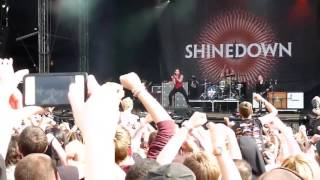 Shinedown The Sound of Madness Live in [HD] @ Download Festival 2012