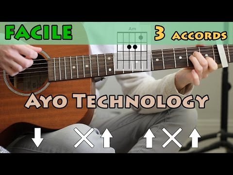 Ayo Technology - Millow (Guitar Lesson) | Tutorial for Noobs