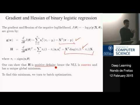 Deep learning Lecture 7: Logistic regression, a Torch approach