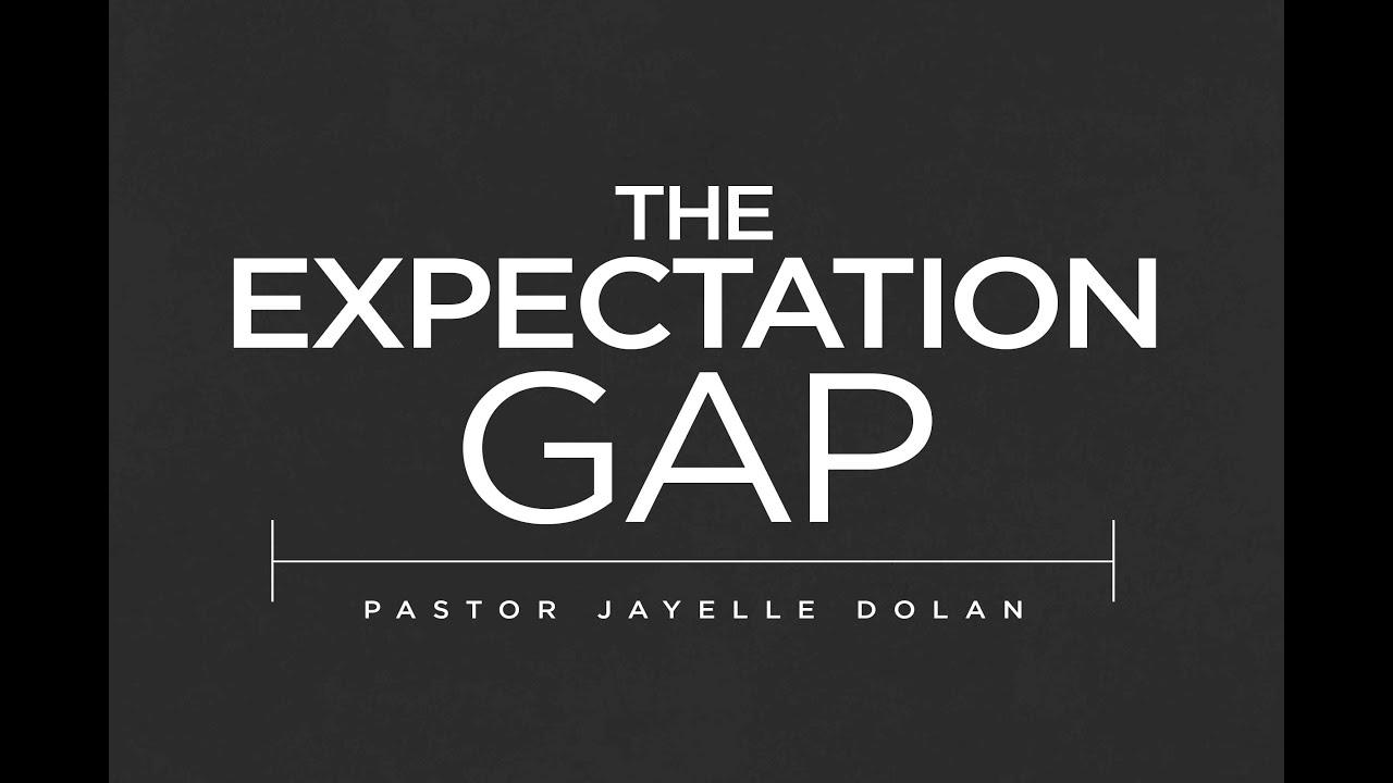expectation gap