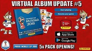 ⚽ TRADES, PACKS & UPDATE !!   Panini FIFA WORLD CUP 2018 STICKER ALBUM  ⚽ VIRTUAL ONLINE!