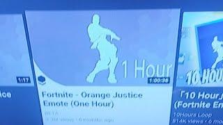 Fortnite Orange Justice Emote Beat 1 Hour 免费在线视频最佳电影