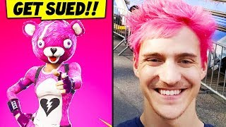 Ninja HATE TRAIN - Fortnite Getting SUED