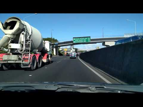 Driving from Grafton, Auckland to Flat Bush, Auckland 2016 Fall