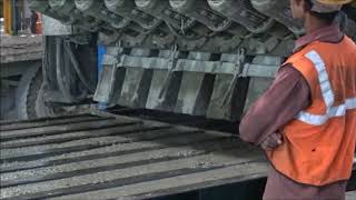 Rail Sleepers manufacturing process