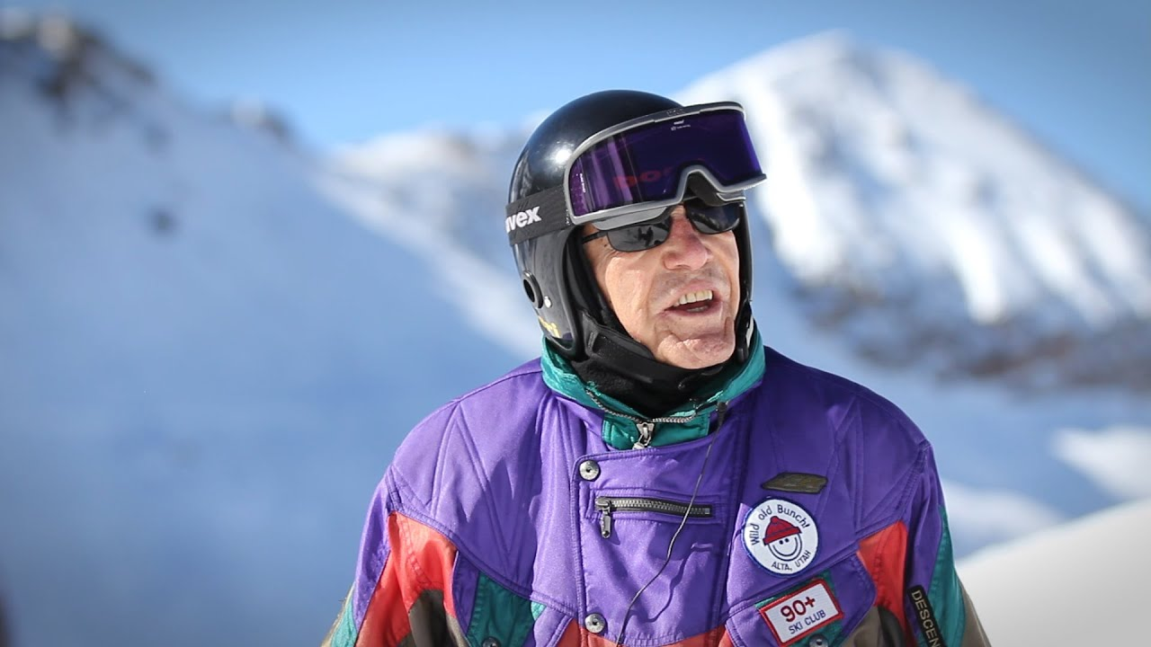 98 Year Old Skier George The Powder Philosophy Youtube