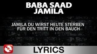 BABA SAAD - JAMILA AGGROTV LYRICS KARAOKE (OFFICIAL HD VERSION AGGROTV)