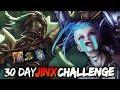 An ADCs Worst Nightmare | 30 Day Jinx Challenge (League of Legends)