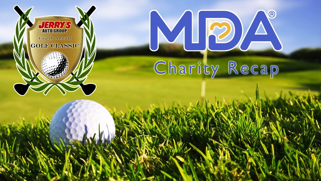 Jerry\'s Auto Group\'s MDA of Maryland Golf Classic Recap - YouTube