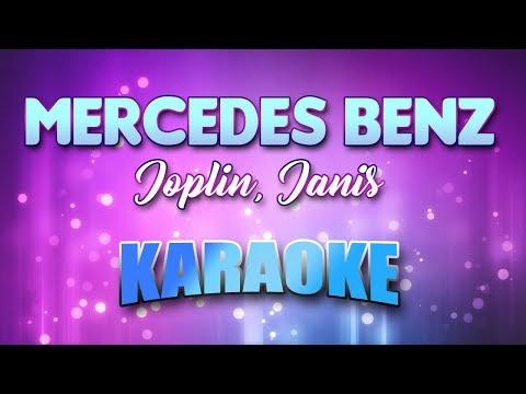 Joplin, Janis - Mercedes Benz (Karaoke & Lyrics)