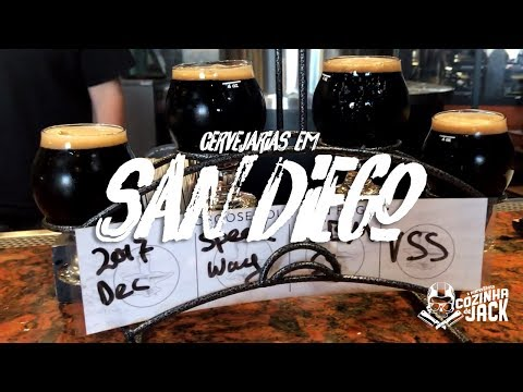 Cervejarias em San Diego | Cozinha de Jack nos EUA E02