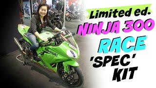 2016 kawasaki ninja 300 csbk race spec kit at the calgary motorcycle show
