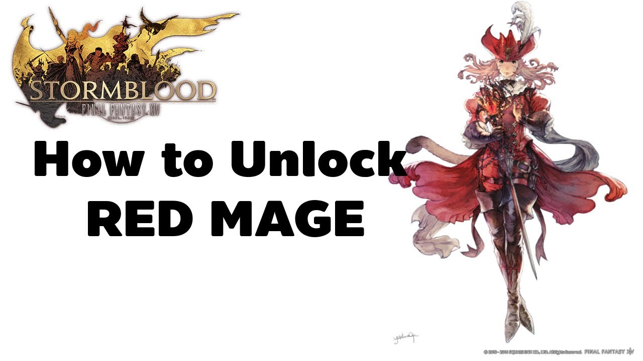 FFXIV How to Unlock Red Mage - Taking the Red