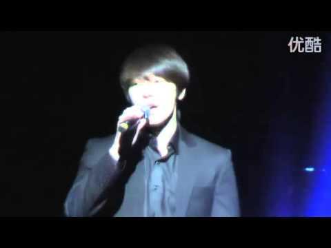 [FANCAM] 101220 DongHae @ Legend of musical - Beautiful Life