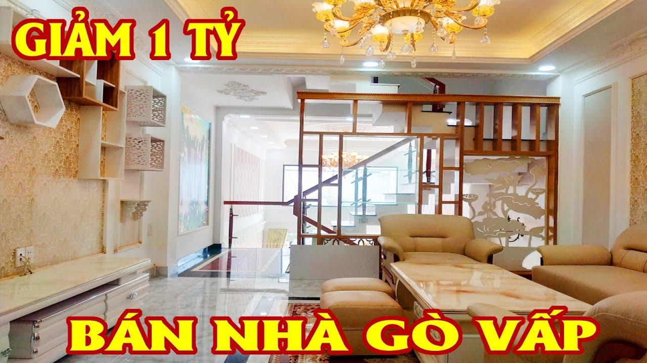 """Nhà Bán Gò Vấp #528 – """"GIẢM 1 TỶ"""" bán nhà phố một trục Quang Trung đẹp ngây dại"""