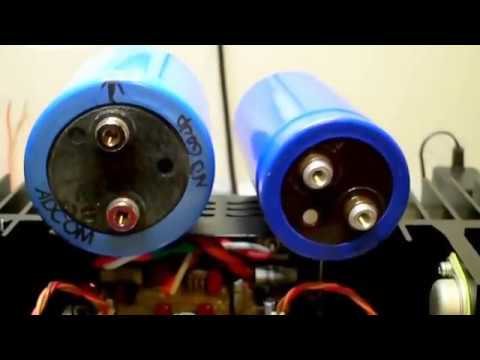 Adcom GFA-555 mkII filter capacitor replacement