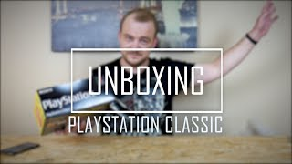 UNBOXING: PLAYSTATION CLASSIC | CZY WARTO? |