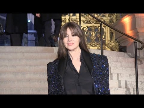 Monica Bellucci attending 2019 Cesar Revelations ceremony in Paris