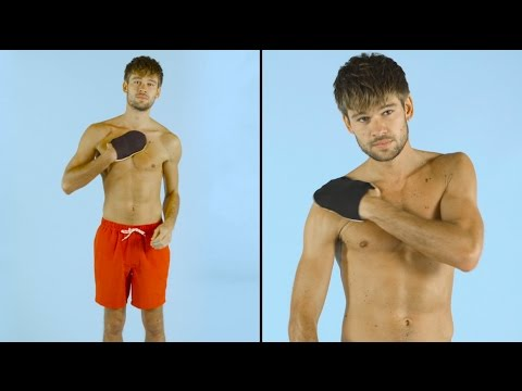 How to do instant fake tan for your whole body   ASOS Menswear grooming tutorial