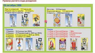 МУЖСКИЕ И ЖЕНСКИЕ КАРТЫ В КОДЕ РОЖДЕНИЯ -  Нумерология ТАРО