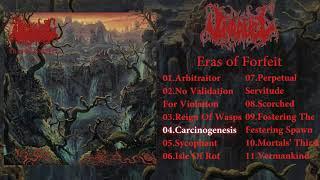 Unravel - Eras of Forfeit LP FULL ALBUM (2018 - Death Metal / Hardcore Punk / Grindcore)