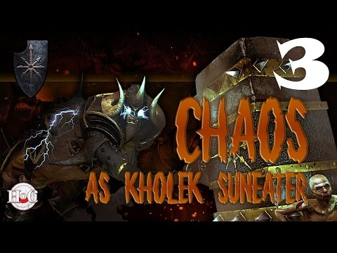 Total War Warhammer - Chaos Warriors - Kholek - Campaign 3