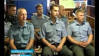 Начальник УМВД области Сергей Волчков посетил Онежский район