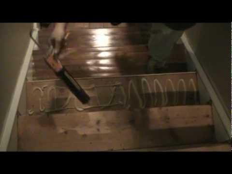 Installing Prefinished Stair Treads