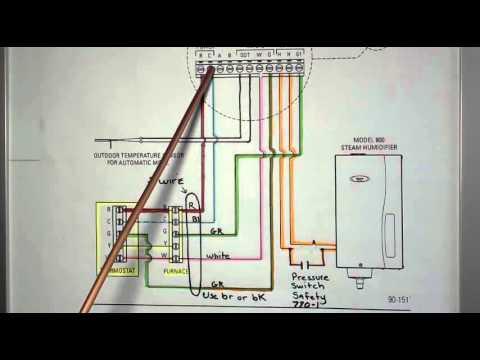 aprilaire model 62 basic wiring