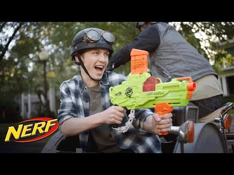 NERF - 'Zombie Strike RevReaper Blaster' Official TV Commercial