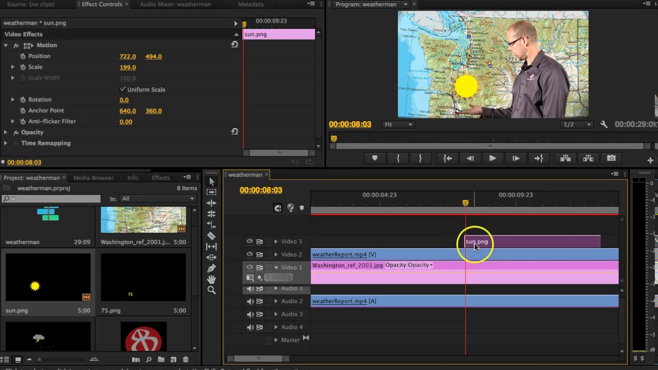 How To Animate Pictures In Premiere Pro