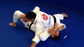 Jiu Jitsu - Paper cutter choke variation