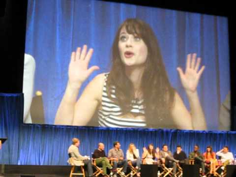 The Rules of True American - New Girl at Paleyfest 2013