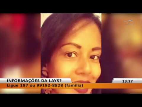 JL - Lays Dias Gomes está desaparecida desde sexta-feira
