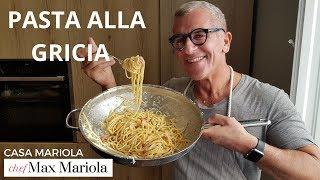 PASTA ALLA GRICIA - Chef Max Mariola