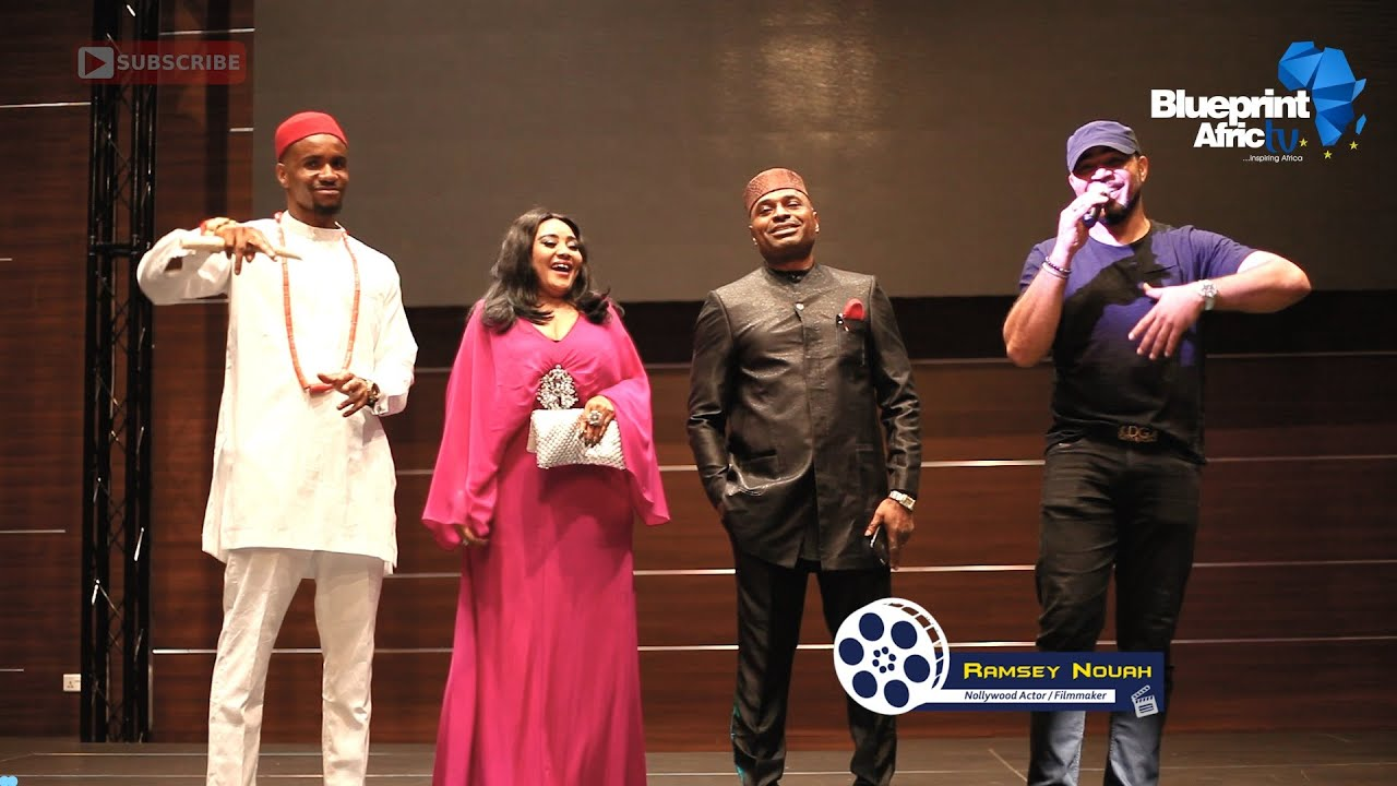"""Download Ramsey Nouah & Kenneth Okonkwo narrates how it all started - LIVING IN BONDAGE """"Breaking Free"""""""