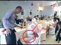 Crazy Bra challenge Russian wedding