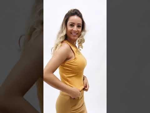 REGATA NADADOR CANELADA – AMARELO