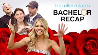 The Ellen Staff's 'Bachelor' Recap Exclusive: Krystal Tells All!