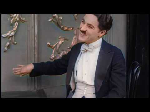 A Night in the Show (1915) | Charlie Chaplin | - color