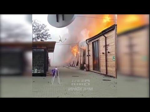 В Пятигорске горит верхний рынок. 4 января 2019