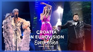 🇭🇷 Croatia in Eurovision - My Top 10 [2000 - 2018]