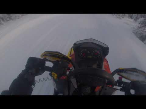 Snowmobile Trip In Levi
